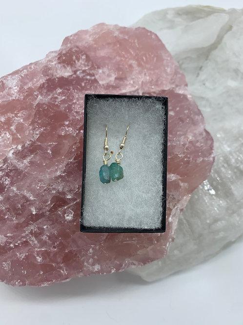 Apatite earrings 2