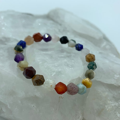 Faceted Rainbow