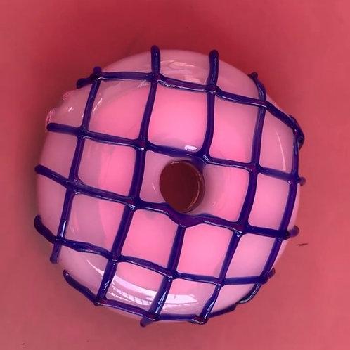 Donut pipe for cbd