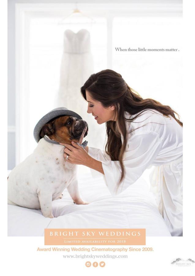 Bright Sky Weddings Ad- Bridal Guide Mag