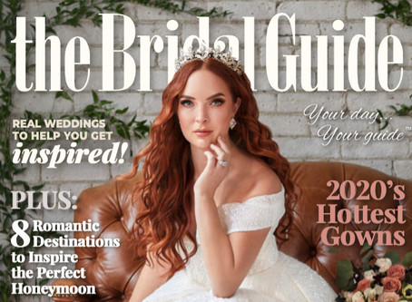 The Bridal Guide Magazine 2020 Cover Shoot