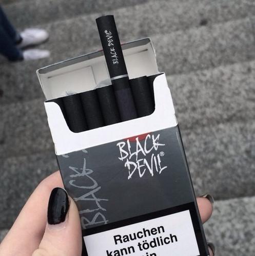 Black Devil Cigarette   witchxmille