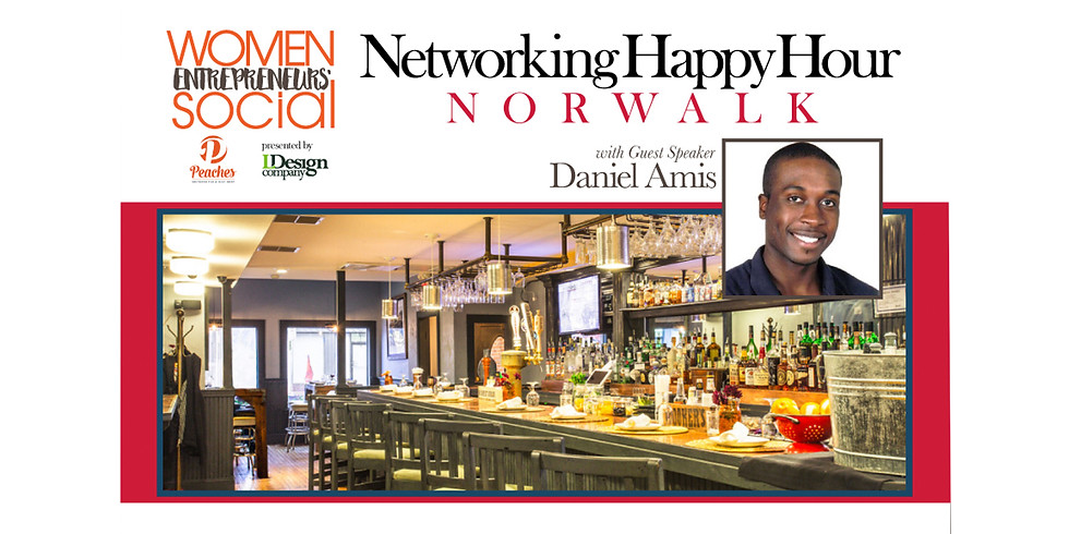 Happy Hour Networking Event with Guest Speaker Daniel Amis (1)