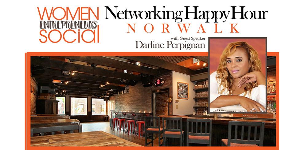 NORWALK - Networking Happy Hour with Speaker Darline Perpignan