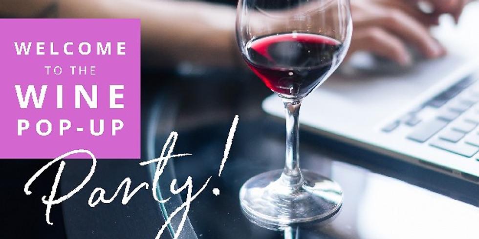Virtual Wine Tasting - Wine Pop-Up