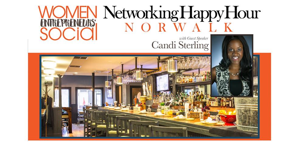 NORWALK - Networking Happy Hour w/Speaker Candi Sterling
