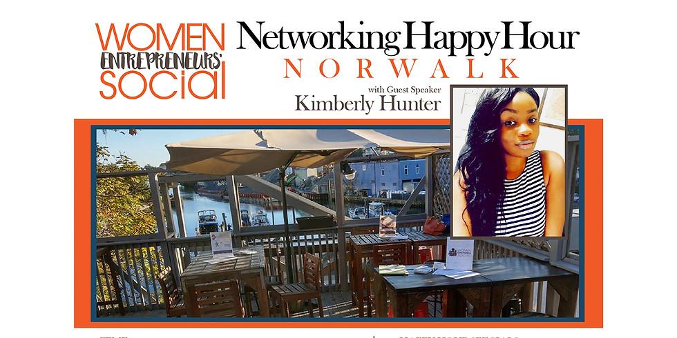 NORWALK - Networking Happy Hour w/Speaker Kimberly Hunter