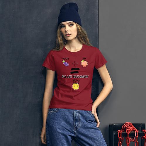 YOU + ME Women's short sleeve t-shirt