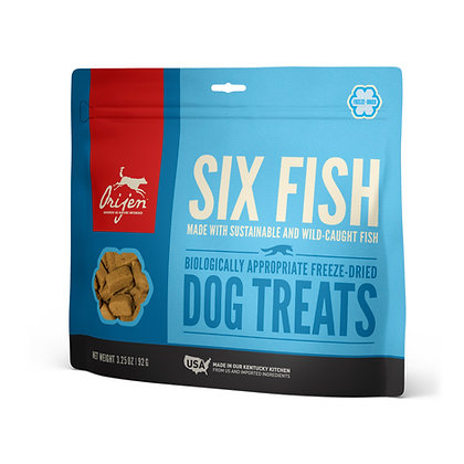 ORIJEN Treats Six Fish Perro