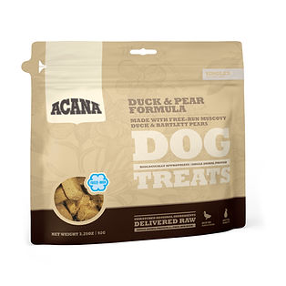 DS ACANA Singles Dog Treats Duck & Pear