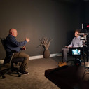 Interjú rögzítés Scott Kellyvel Houstonban, saját apartmanjának konferenciatermében.