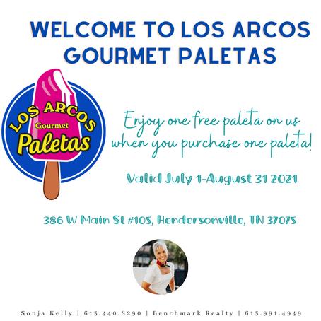 Los Arcos Gourmet Paletas