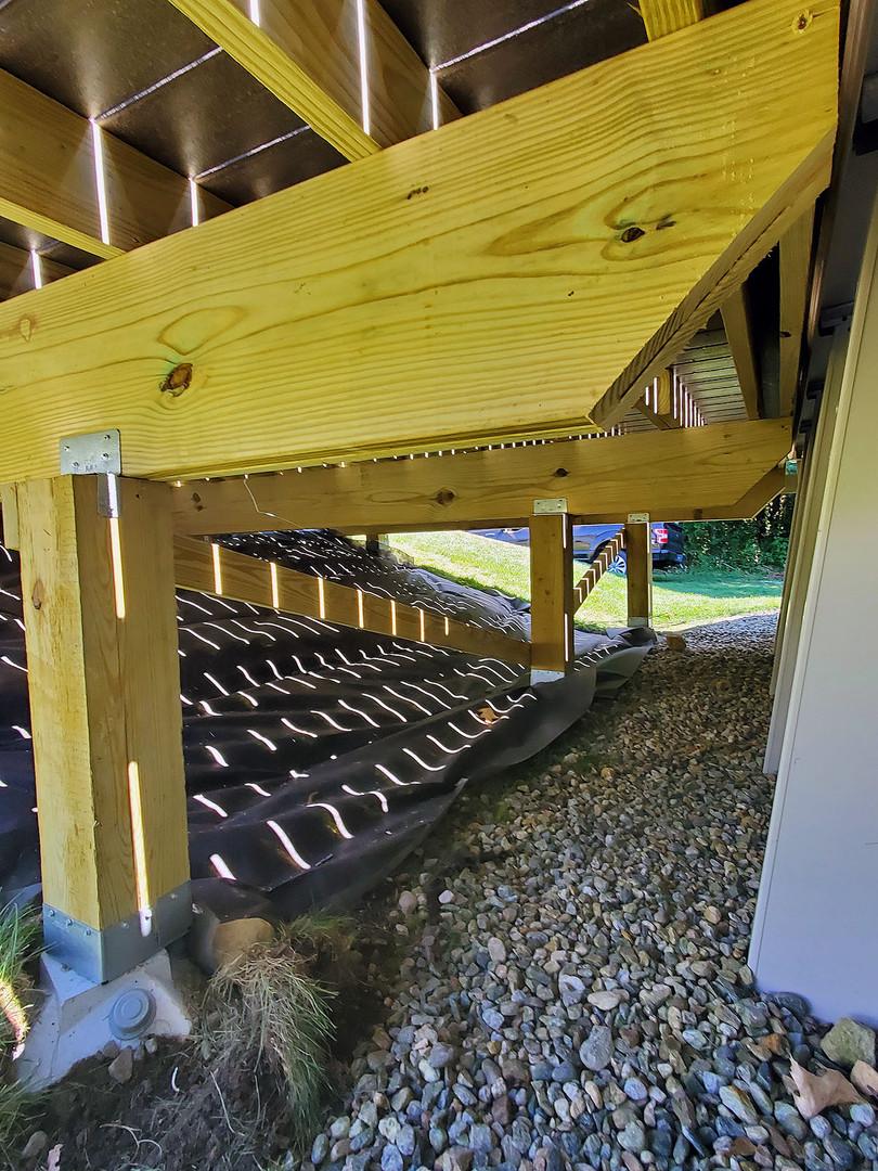 composite deck support posts