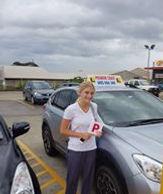 El getting her licence