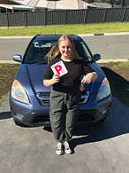 Ruby Getting her p licence