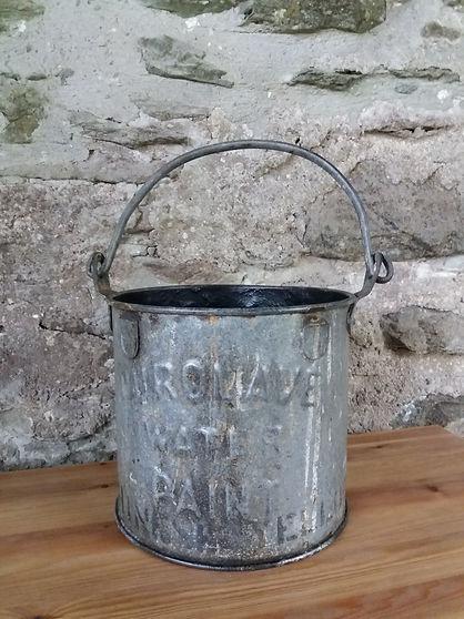vintage paint tin unique storage