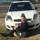 IMG_3066.jpg Candice with her red P plates