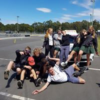 Year 11 students Driver Ed!