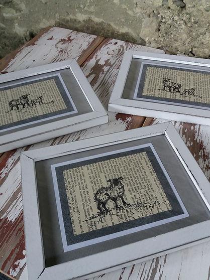 original sketches illustrations sheep