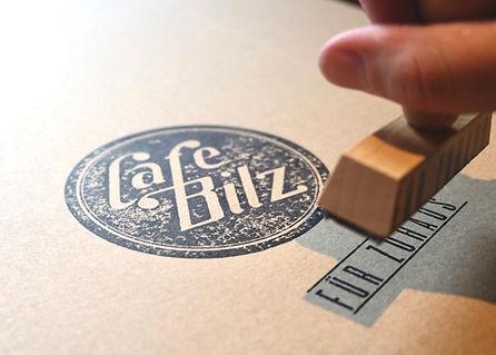 Logo Stempel Bilz für Zuhaus
