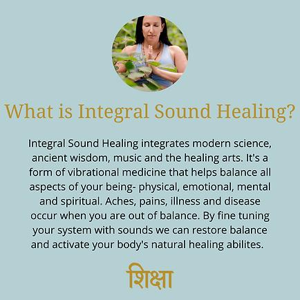 Sound therapy Shiksha