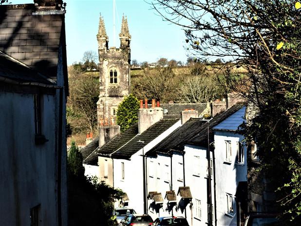 View into Village