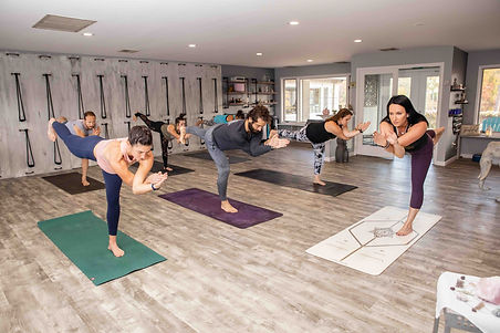 A class with Nicole Zornitzer, the Founder of Niyama, a yoga studio in New Jersey