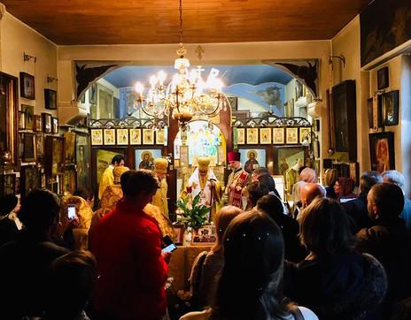 Служба посвященная 90-летию церкви
