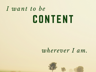 """Conversations with God ~ """"I want to be content."""""""
