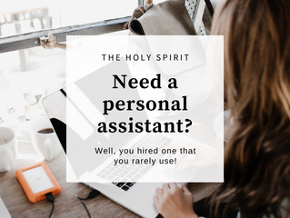 Do you need a personal assistant?