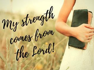 He is your Unyielding Strength!