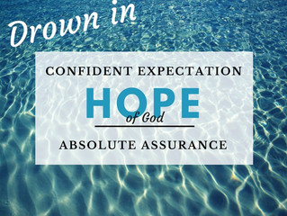 How to Overflow with the Hope of God