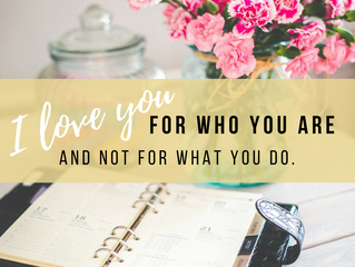 Who You Are, Not What You Do.