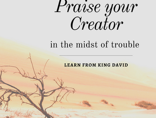 Praise in the midst of trouble