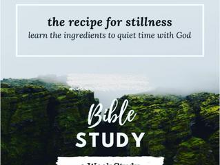 Stillness with the Holy Spirit
