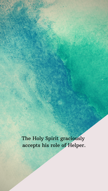 the Holy Spirit's role green