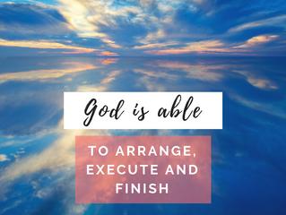 I am able to do. - God
