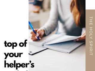 Top of Your Helper's To-Do List