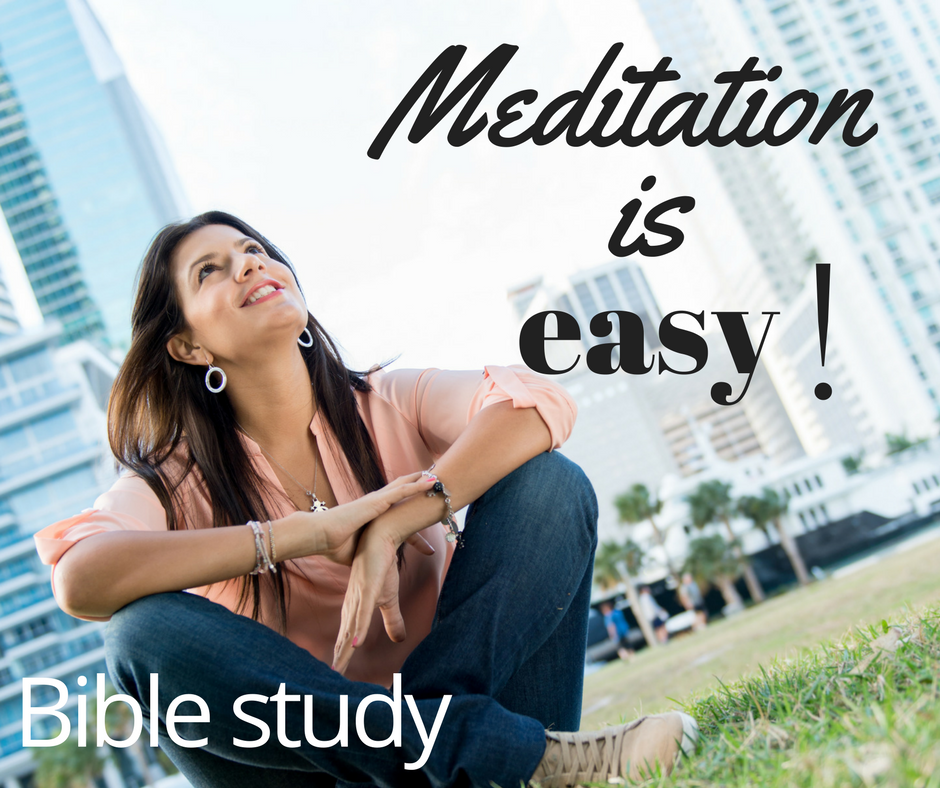 Meditation is easy! week 1(1)