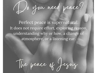 Meet Jesus. Meet Peace.