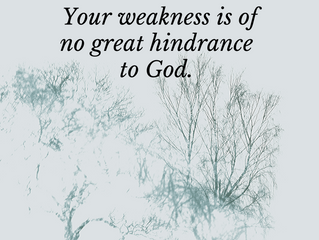 Are you weak?