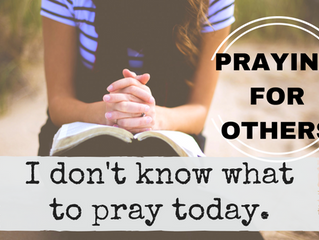 Praying for Other People