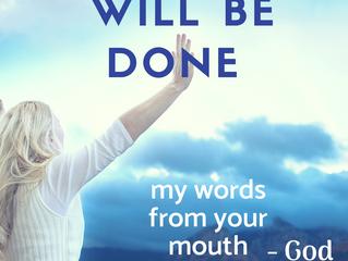 """""""I will."""" says God"""