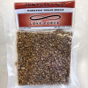 SUN-FLAX TACO  (All Raw Organic Bread)