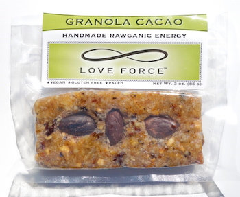 Case of 12 GRANOLA CACO (Rawganic Vegan Energy Bars)
