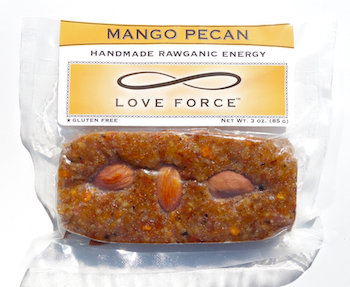 Case of 12 MANGO PECAN (Rawganic Vegan Energy Bars)