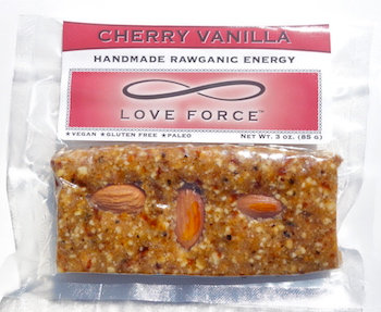 Case of 12 CHERRY VANILLA (Rawganic Vegan Energy Bars)