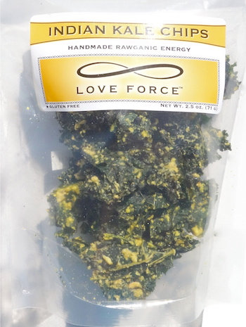 Case of 12 INDIAN KALE CHIPS