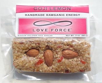 Case of 12 GOJI LEMON (Rawganic Vegan Energy Bars)