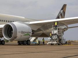 Boeing, Etihad Airways and World Energy lift SAF to next level on ecoDemonstrator program